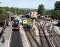 Buckfastleigh railway station, South Devon Railway - view towards Ashburton.jpg
