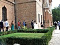 Bucuresti, Romania. PALATUL BRANCOVENESC de la MOGOSOAIA. (Alaiul cu mireasa pe langa ziduri)(IF-II-a-A-15298).jpg