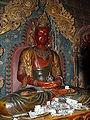 Buddhist artwork in the Pelkhor Monastery, Gyantse2.jpg