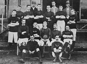 Buenos Aires Cricket & Rugby Club - The Buenos Aires Football Club in 1891. The club then would merge with BACC in 1951.