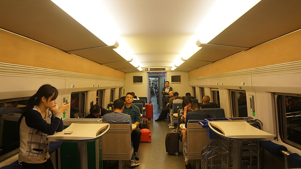 Buffet Car of CRH2B