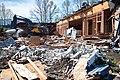 Building A demolition Chilliwack North-2 (26108636461).jpg