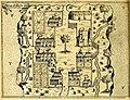 Buildings on Saint Croix Island - circa 1613 - Project Gutenberg etext 20110.jpg