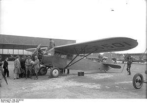 Fairchild FC-2 - The FC-2W of Collyer and Mears at Berlin in 1928