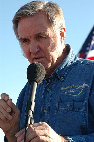 Burt Rutan - Rutan in October 2004