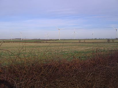 How to get to Burton Wold Windfarm with public transport- About the place