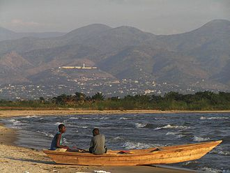 Burundi - Fishermen on Lake Tanganyika.