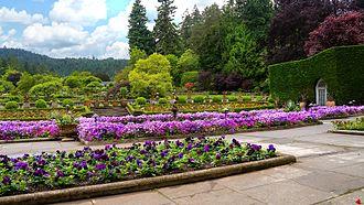 Butchart Gardens - The Italian Garden