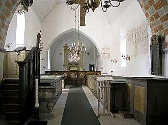 Buttle Church - Buttle Church interior