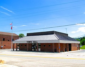 Byrdstown, Tennessee - Byrdstown Town Hall