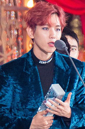 Byun Baek-hyun - Byun at 8th Melon Music Awards
