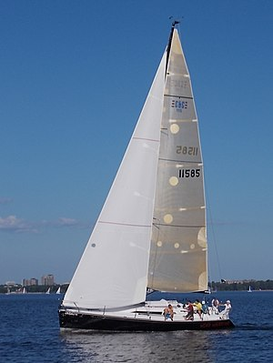 C&C 115 - Image: C&C 115 sailboat Wind Warrior 0698