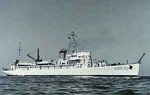 USS Mobjack (AGP-7) - Image: C&GS Ship Pioneer (1946)