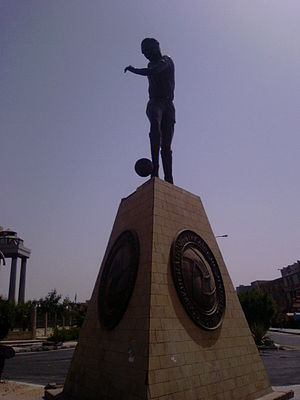 History of CAF - Headquarter of CAF in 6th of October City, Egypt.