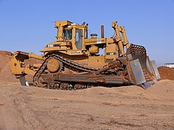 meaning of bulldozer