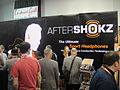 CES 2012 - Aftershokz bone conduction headphones (6937588093).jpg