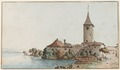 CH-NB - Ouchy, Schloss, von Südosten - Collection Gugelmann - GS-GUGE-ABERLI-F-6.tif