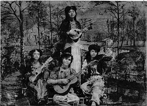 Kroncong - Orchestra of Komedie Stamboel, 1905.