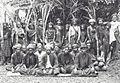 COLLECTIE TROPENMUSEUM Groepsportret van lokale bestuurders uit de Gajo- en Alaslanden die zich zijn komen melden bij de colonnecommandant TMnr 60039111.jpg