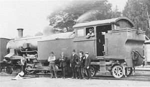 CSAR Rack 4-6-4RT - Converted rack no. 0995, circa 1912