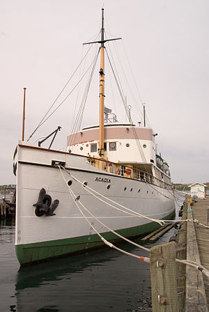 Dartmouth Marine Slips - CSS Acadia was one of the many vessels serviced at the Dartmouth Marine Slips over its long history.