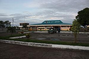Calbayog Airport - Image: CY Poutside