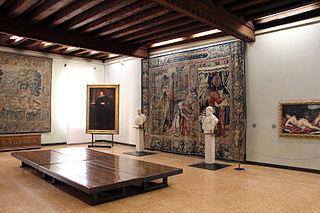 Art museum in Venice, Italy