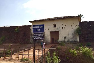 Cabo de Rama - Entrance of the Fort