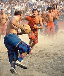 Calcio in costume