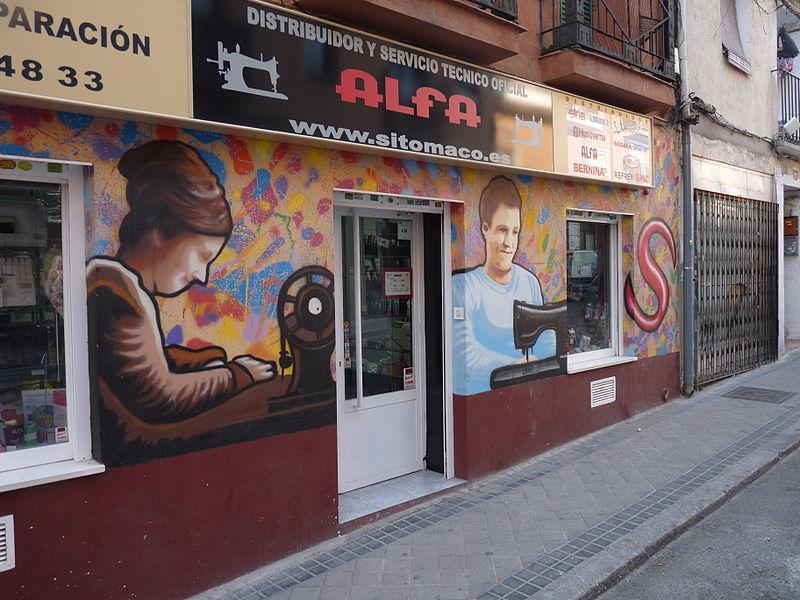 File:Calle de Ceuta, Madrid, tienda.jpg - Wikimedia Commons