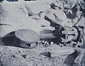 Calvert Jones, Old Capstan under a Rock, Malta 1846.jpg
