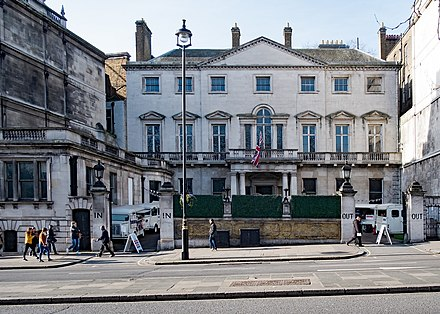 Cambridge House, the Club's former premises on Piccadilly