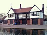 Boathouse of Trinity Hall