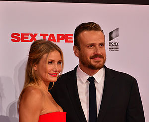 Cameron Diaz and Jason Segel September 2014.jpg