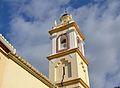 Campanar de l'església de sant Andreu, Benimeli.JPG