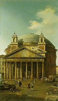 Canaletton - Rome, The Pantheon RCIN 400524.jpg