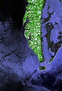 Cape Charles (headland) Headland in Northampton County, Virginia, United States