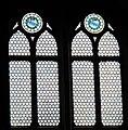 Cappella rinuccini, vetrate con stemmi rinuccini.JPG