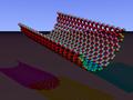 Carbon nanorim armchair povray.PNG