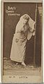 Card Number 71, Lotta, from the Actors and Actresses series (N145-4) issued by Duke Sons & Co. to promote Cameo Cigarettes MET DP839966.jpg