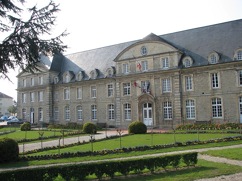 Mairie de Carentan, NormandieCarentanCity Hall, Normandy