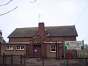 The former primary school in Careston, photographed in 2006