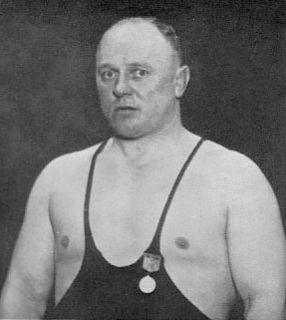 Carl Westergren Swedish wrestler