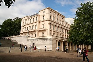 Carlton House Terrace - An end block of Carlton House Terrace and the Duke of York's Steps