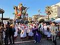 Carnevale di viareggio 2014, Voodoo di Carlo Lombardi.JPG