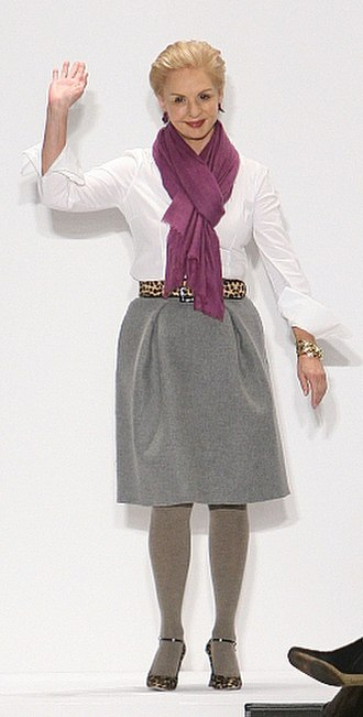 Carolina Herrera - Herrera at fashion show in 2008.