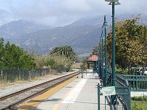 Carpinteria station - Image: Carpinteria Amtrak