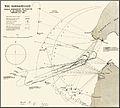 Carte anglaise des bombardements du 25 fevrier 1915 sur les Dardanelles.jpg