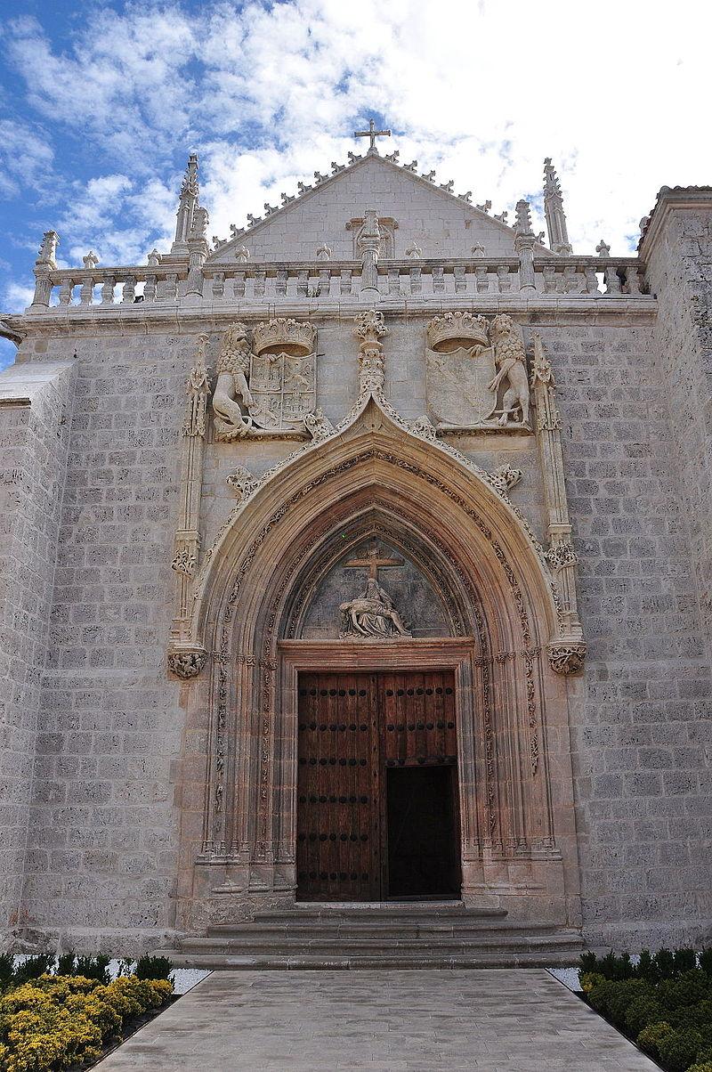 Cartuja de Miraflores, entrada a la Iglesia.JPG