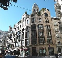 Casa dos Portugueses, Madrid (1919-1922)